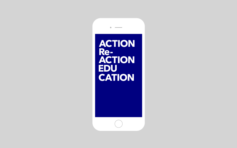 ACTION Re-ACTION EDUCATION Website